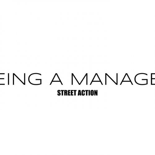 Being a manager